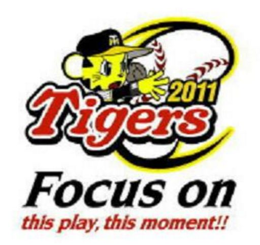 阪神スローガン・Focus on this play,this moment!!