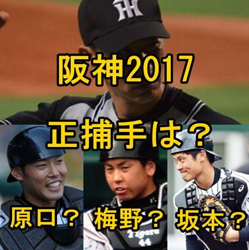 阪神2017・捕手