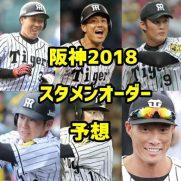阪神スタメンオーダー予想2018