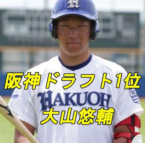 大山悠輔・阪神ドラフト1位